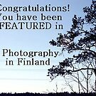 Photography in Finland banner by homesick