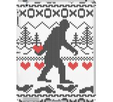 Gone Squatchin for Love this Holiday iPad Case/Skin