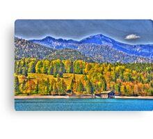 HDR - Lake Walchensee II Canvas Print