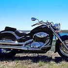 Motorbike by Melanie  Barker