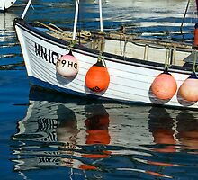 Five Floats ~ Lyme Regis by Susie Peek