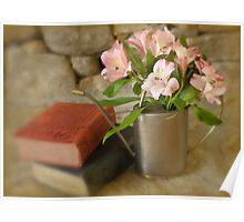 Books & Botanicals Poster