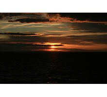 Magic sunset - Fisherman's Beach Photographic Print