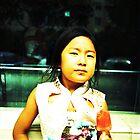 Kid with Watermelon Icecream by Dominique Musorrafiti