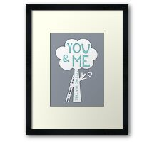 You & Me Framed Print