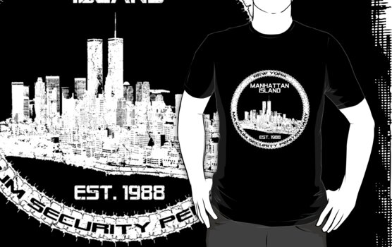 Escape From New York White by AngryMongo