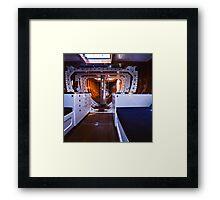 Gretel II—Below Deck Framed Print