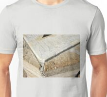 Fragment of old sundial clock face Unisex T-Shirt
