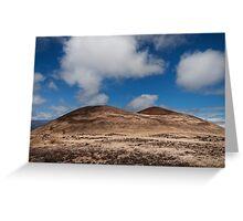 Volcanic landscape 3 Greeting Card