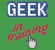 Geek In Training Baby Tee