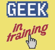 Geek In Training Kids Clothes