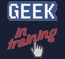 Geek In Training Baby Tee