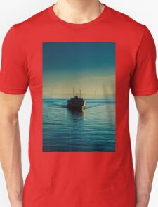 A steamboat in Bosphorus T-Shirt