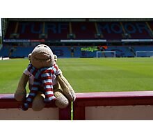 The world's smallest biggest Burnley Fan! Photographic Print