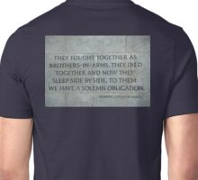 World War II Memorial 1664 Unisex T-Shirt