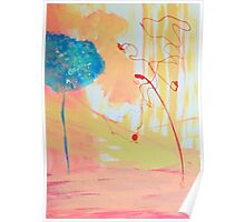 Red Tree Blue Tree Poster