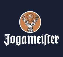 Jogameister logo t - white on colored T-Shirt