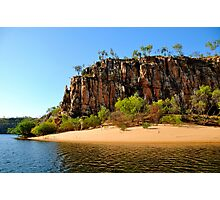 Katherine Gorge Beach Photographic Print