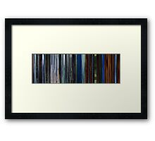 Moviebarcode: Audition (1999) Framed Print