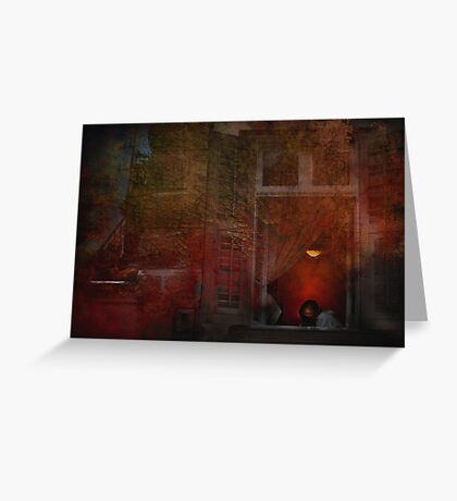 """""""In the Still of the Night ...."""" Greeting Card"""