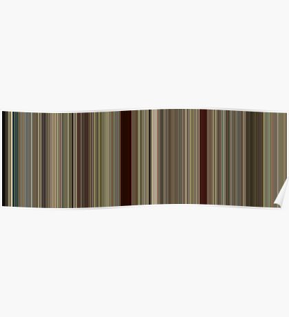 Moviebarcode: Run Lola Run (1998) [Simplified Colors] Poster