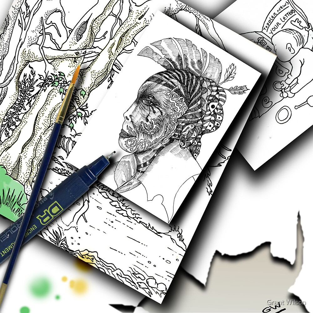 Sketchpad: pages from the ages by Grant Wilson