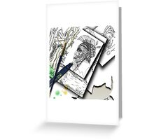 Sketchpad: pages from the ages Greeting Card