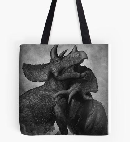 Beasts of Combat: Triceratops Tote Bag