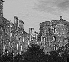 Windsor Castle black and white by James Taylor