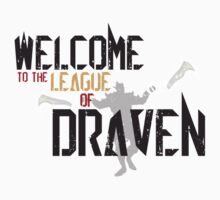 Welcome To The League Of Draven One Piece - Long Sleeve