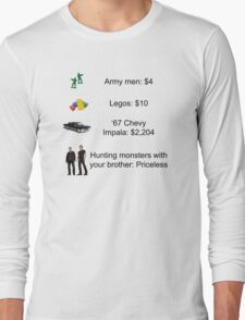 Hunters are Priceless Long Sleeve T-Shirt