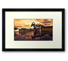 Wheel o Falkirk  Framed Print
