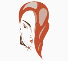 Girl with Red Hair by Vac1