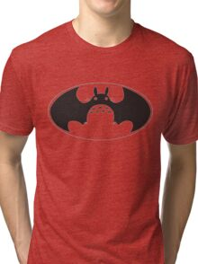 Totoro bat Tri-blend T-Shirt