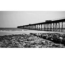 Queens Pier, Ramsey Photographic Print