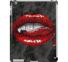 Swirly Fangs iPad Case/Skin