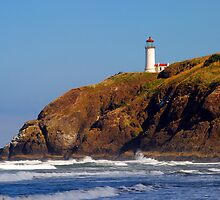 North Head Lighthouse by Jennifer Hulbert-Hortman