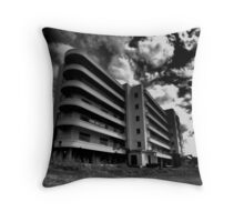 Hospital Shadows Throw Pillow