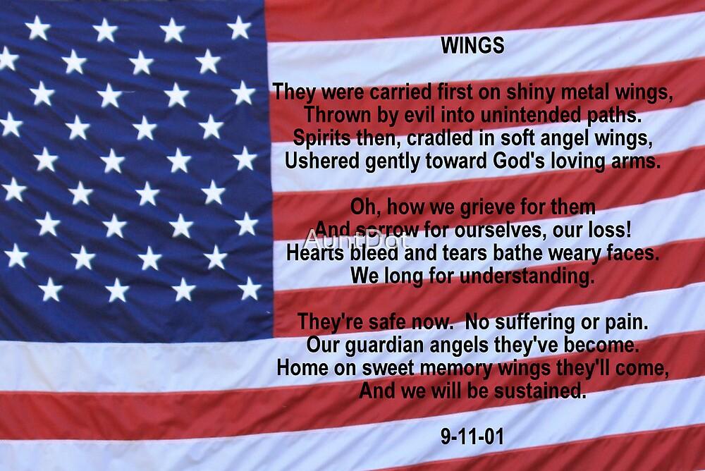 WINGS:  Remembering 9/11 by AuntDot