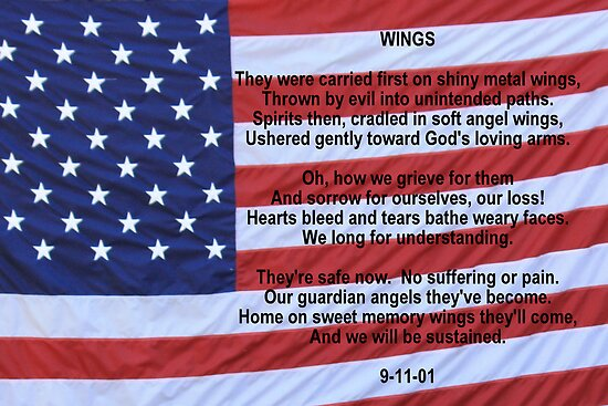 WINGS:  Remembering 9/11 by AuntDot