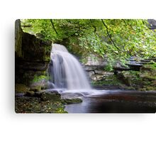 West Burton Falls II Canvas Print