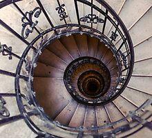Metal spiral staircase by JBlaminsky