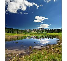 Willow Heights Lake, Utah Photographic Print