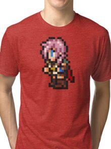 Lightning sprite - FFRK - Final Fantasy XIII (FF13) Tri-blend T-Shirt