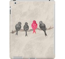 Swirly Individualist iPad Case/Skin