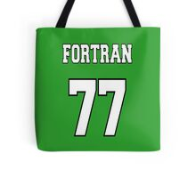 FORTRAN 77 - White on Green Design for Fortran Programmers Tote Bag
