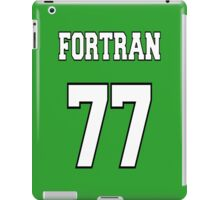FORTRAN 77 - White on Green Design for Fortran Programmers iPad Case/Skin