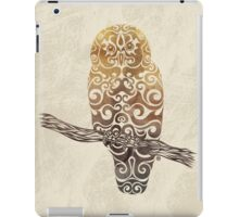 Swirly Owl iPad Case/Skin