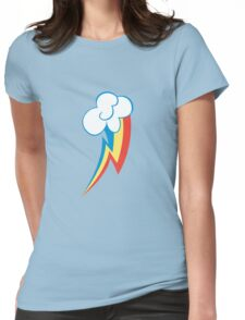 Rainbow Dash Cutie Mark (Medium icon) - My Little Pony Friendship is Magic Womens Fitted T-Shirt