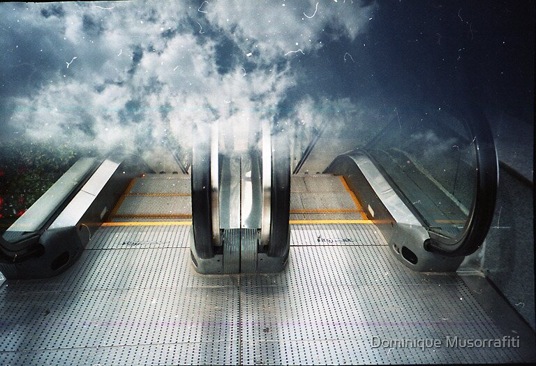 Stairway to Heaven by Dominique Musorrafiti